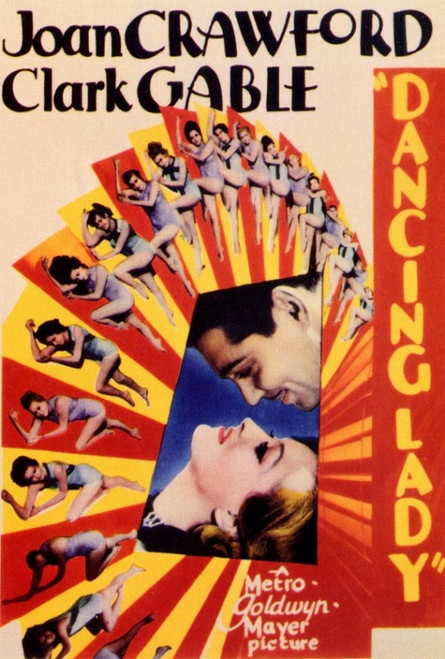 Dancing Lady Movie Poster Print (27 x 40) - Item # MOVEF8348