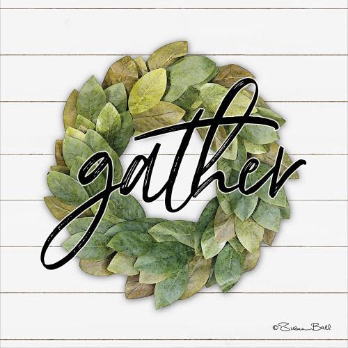 Gather Wreath Poster Print by Susan Ball - Item # VARPDXSB579