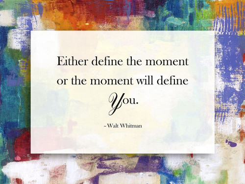 Define The Moment Poster Print by Sheldon Lewis - Item # VARPDXSH5RC158A