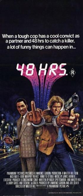 48 Hrs Movie Poster (11 x 17) - Item # MOV195905