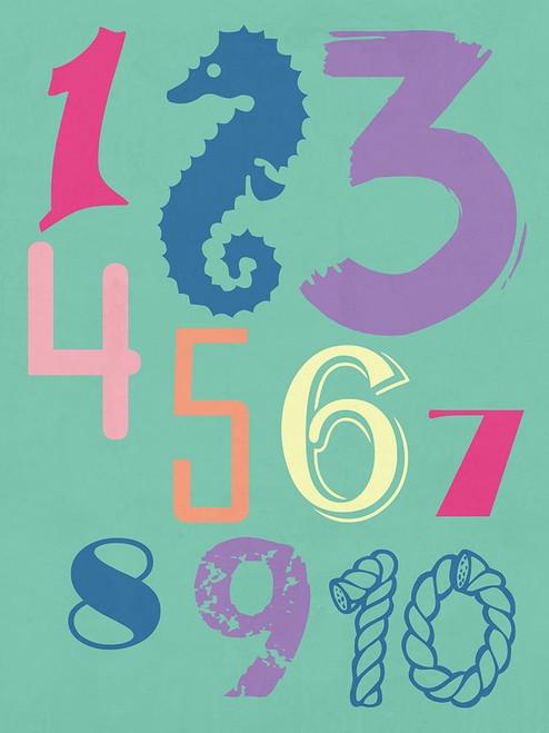 123 Sea Poster Print by Sheldon Lewis - Item # VARPDXSLBRC883B