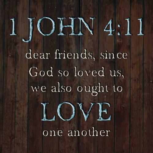 1 John 4:11 Poster Print by Sheldon Lewis - Item # VARPDXSLBSQ342B