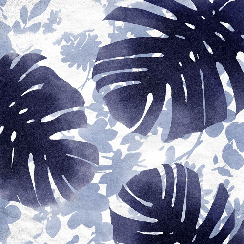 Blue Leaves II Poster Print by Suzanne Nicoll - Item # VARPDXSN311