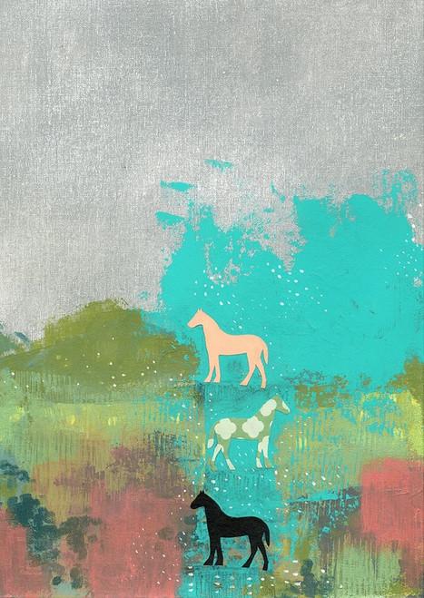 3 Horses Poster Print by Sarah Ogren - Item # VARPDXSO1417