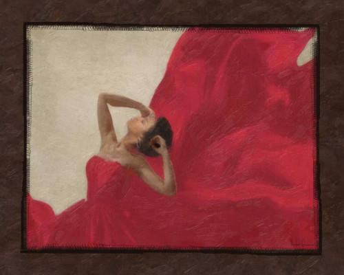 LADY IN RED Poster Print by Taylor Greene - Item # VARPDXTGRC170C