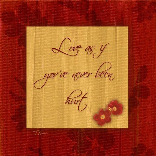 1 Love Poster Print by Tony Pazan - Item # VARPDXTZSQ014B