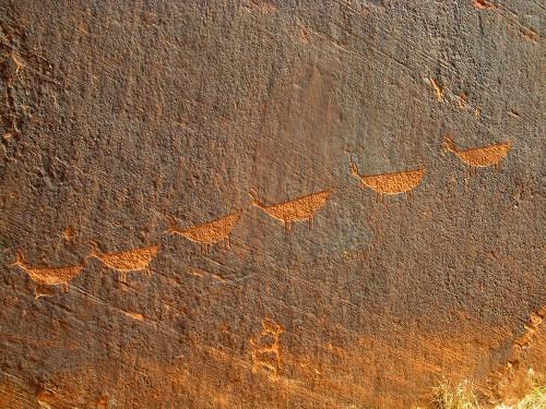 Petroglyphs I Poster Print by Popcorn Popcorn - Item # VARPDXWJTPHO00017