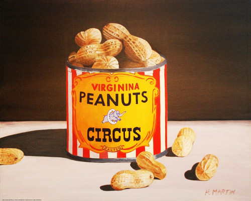 Circus Peanuts Poster Print by Yellow Cafe Yellow Cafe - Item # VARPDXYC1203