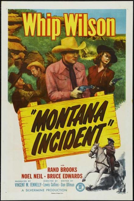 Montana Incident Movie Poster Print (27 x 40) - Item # MOVIJ7183