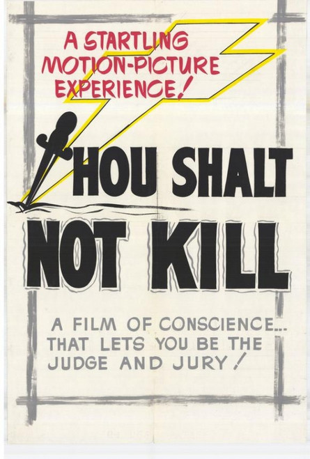 Thou Shalt Not Commit Kill Movie Poster Print (27 x 40) - Item # MOVIH2239