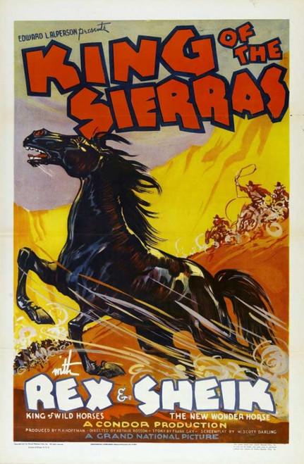 King of the Sierras Movie Poster Print (27 x 40) - Item # MOVGI7737