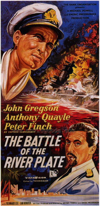 The Battle of the River Plate Movie Poster Print (27 x 40) - Item # MOVAF1305