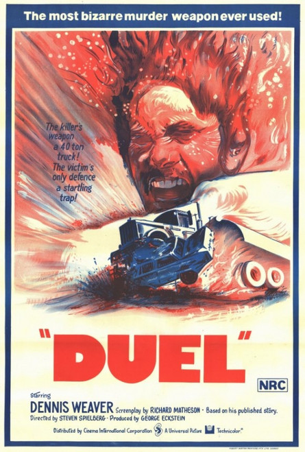 Duel Movie Poster Print (27 x 40) - Item # MOVEF7204