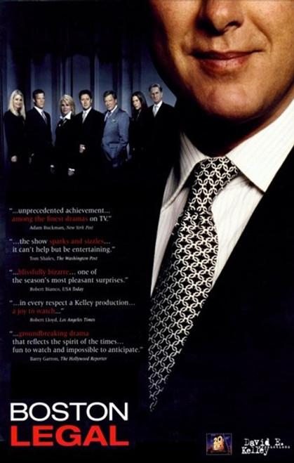 Boston Legal Movie Poster (11 x 17) - Item # MOV356540