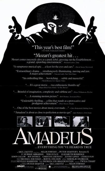 Amadeus Movie Poster (11 x 17) - Item # MOV205239