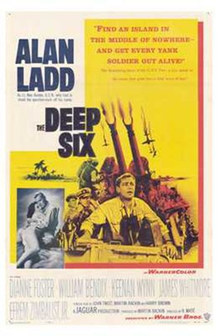 Deep Six Movie Poster (11 x 17) - Item # MOV195593