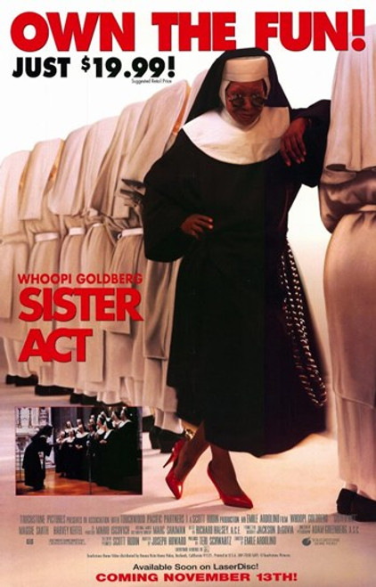 Sister Act Movie Poster (11 x 17) - Item # MOV235078