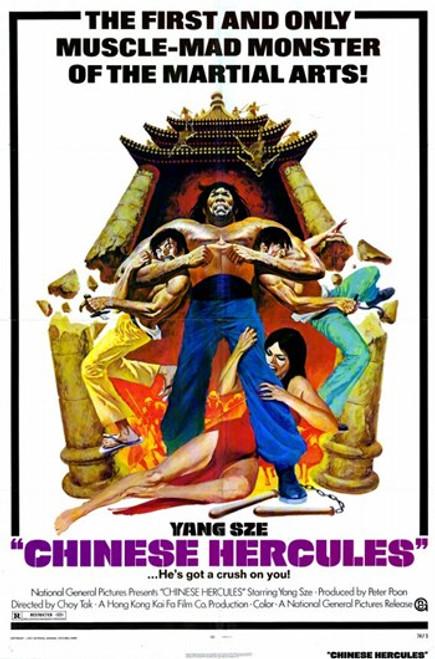 Chinese Hercules Movie Poster (11 x 17) - Item # MOV228315