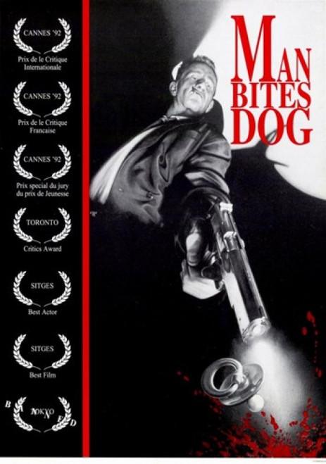Man Bites Dog Movie Poster (11 x 17) - Item # MOV246515