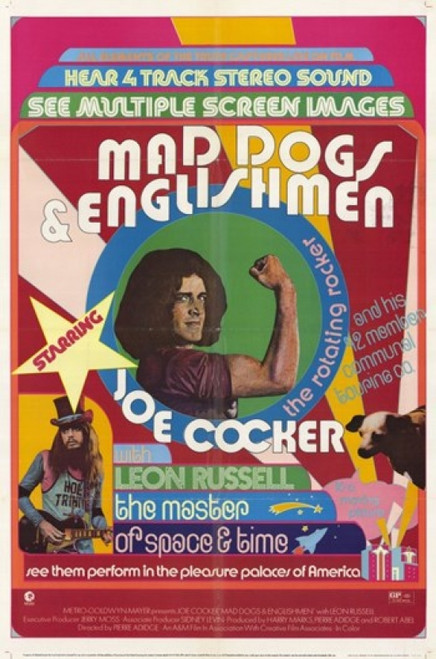 Mad Dogs and Englishmen Movie Poster (11 x 17) - Item # MOV247883