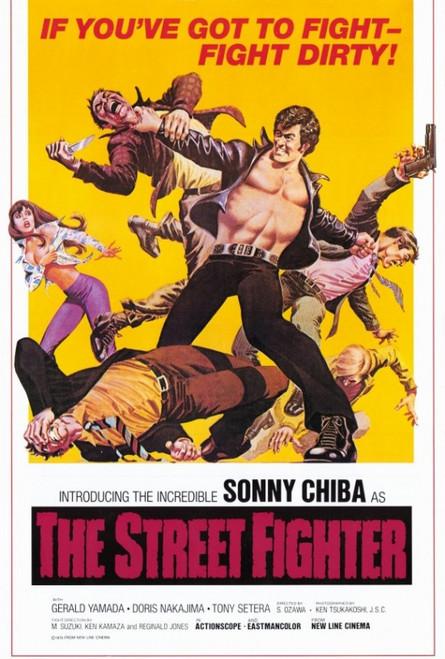 The Street Fighter Movie Poster Print (27 x 40) - Item # MOVAF5370