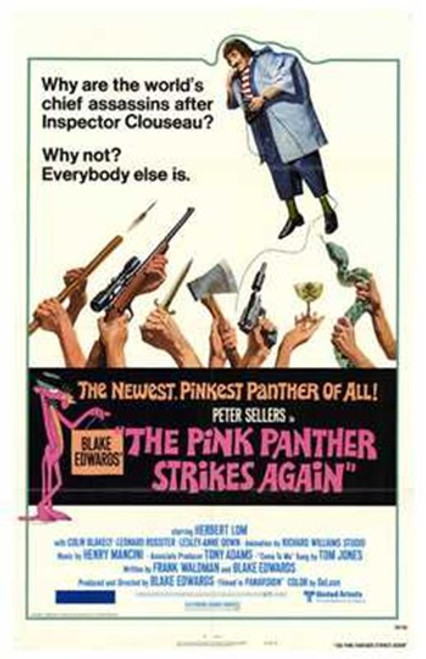The Pink Panther Strikes Again Movie Poster (11 x 17) - Item # MOV193299