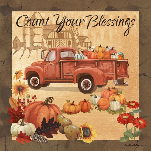 Count Your Blessings II Poster Print by Anita Phillips # AP2343