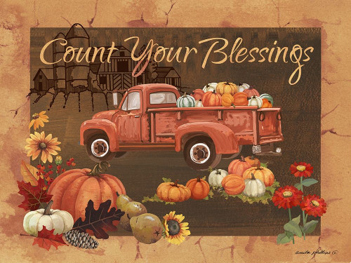 Count Your Blessings IV Poster Print by Anita Phillips # AP2345