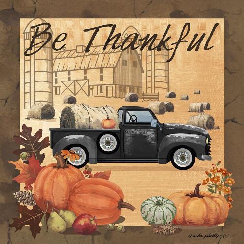 Be Thankful II Poster Print by Anita Phillips # AP2349