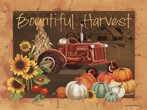Bountiful Harvest IV Poster Print by Anita Phillips # AP2357