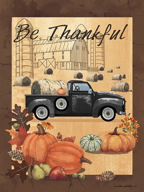 Be Thankful III Poster Print by Anita Phillips # AP2350