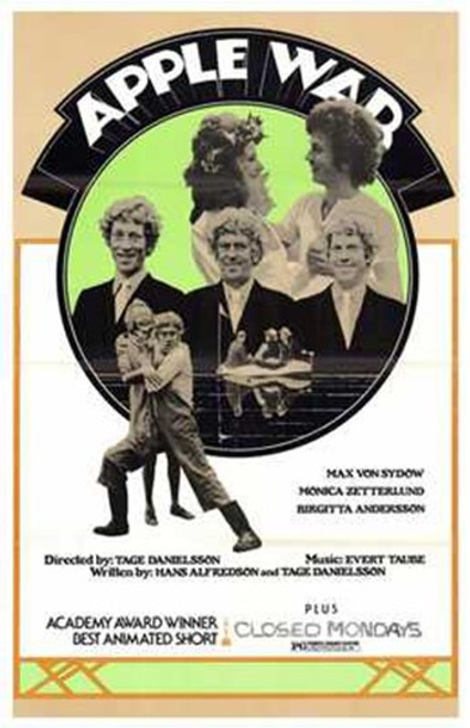 Apple War Movie Poster (11 x 17) - Item # MOV203330