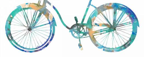 Bike Ride II Poster Print by Amanda Wade # AMW111485DG