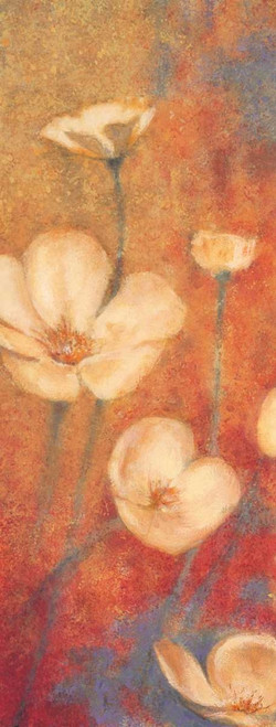 Floral Poetry I Poster Print by Anne Michaels # AMI5051