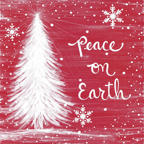 Peace on Earth Trees Poster Print by Annie LaPoint # ALP1894
