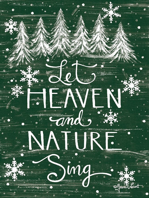 Let Heaven and Nature Sing     Poster Print by Annie LaPoint # ALP1930