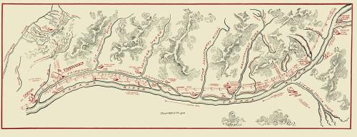 Tanana River Telegraph Line Alaska - 1906 Poster Print by Unknown Unknown # AKTA0001