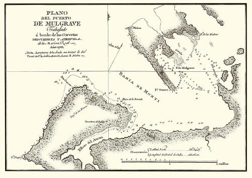 Puerto de Mulgrave Alaska - Espinosa y Tello 1802 Poster Print by Espinosa Espinosa # AKPU0001