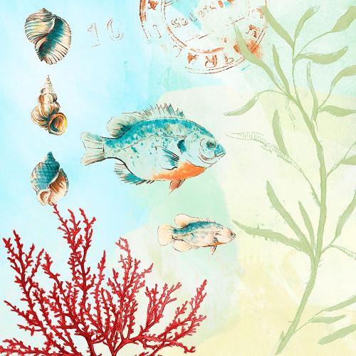 Deep Sea Coral II Poster Print by Lanie Loreth # 8599AP