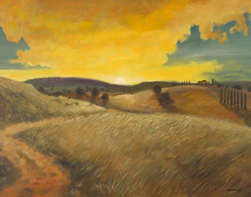 Bella Landscape Poster Print by Kingsley Kingsley # 7923