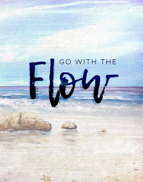 Go with the Flow Poster Print by Kingsley Kingsley # 7682J
