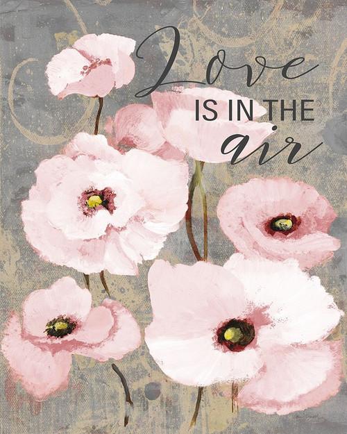 Kindles Blush Poppies I Poster Print by Lanie Loreth # 7683L