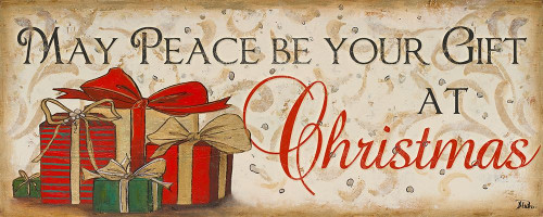 Peace at Christmas Poster Print by Patricia Pinto # 7667A