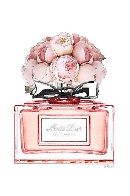 Perfume Bottle Bouquet XVI Poster Print by Amanda Greenwood # AGD117357