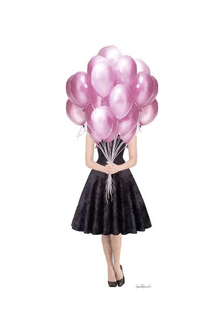 Pink Balloon Girl Poster Print by Amanda Greenwood Amanda Greenwood # AGD117348