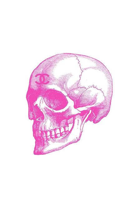 Pink Skull Poster Print by Amanda Greenwood # AGD115793
