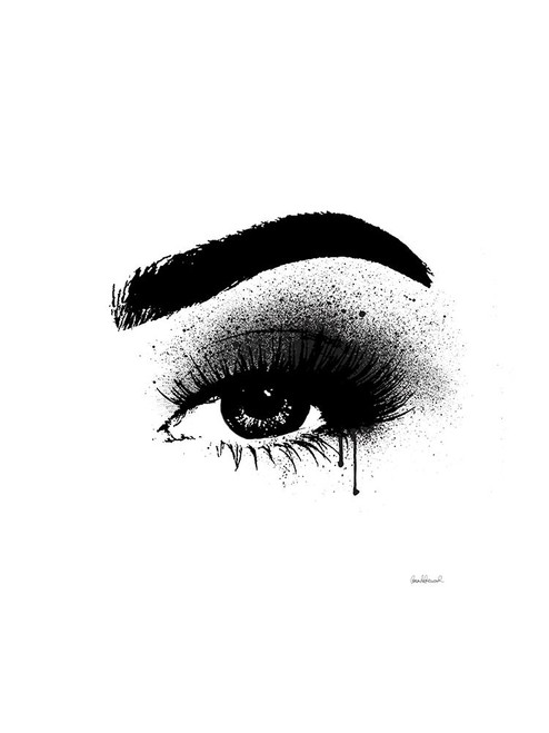 Eye Black Poster Print by Amanda Greenwood # AGD115759