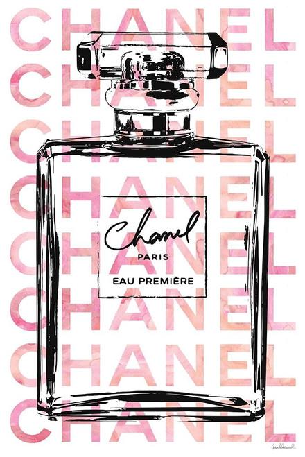 Pink Perfume Poster Print by Amanda Greenwood # AGD115797