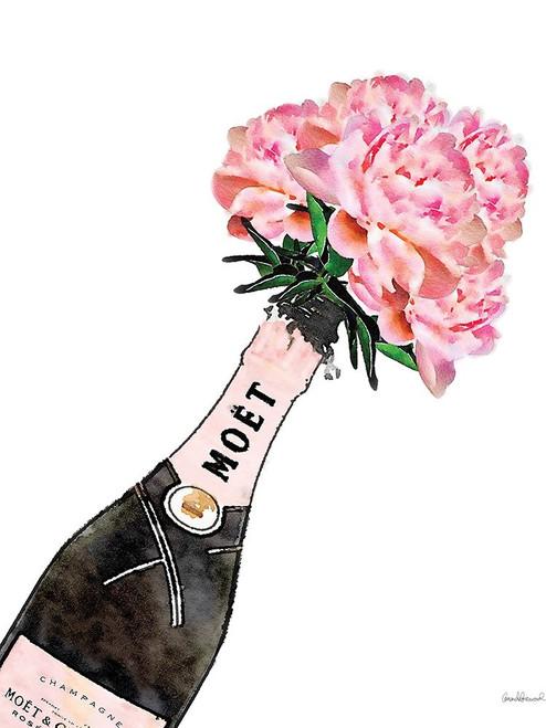 Champange Pink Peony Poster Print by Amanda Greenwood # AGD115436