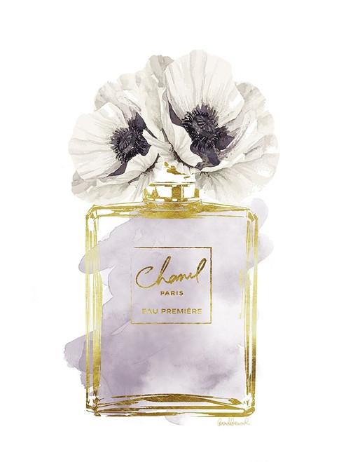 Perfume Bottle Bouquet II Poster Print by Amanda Greenwood # AGD115333
